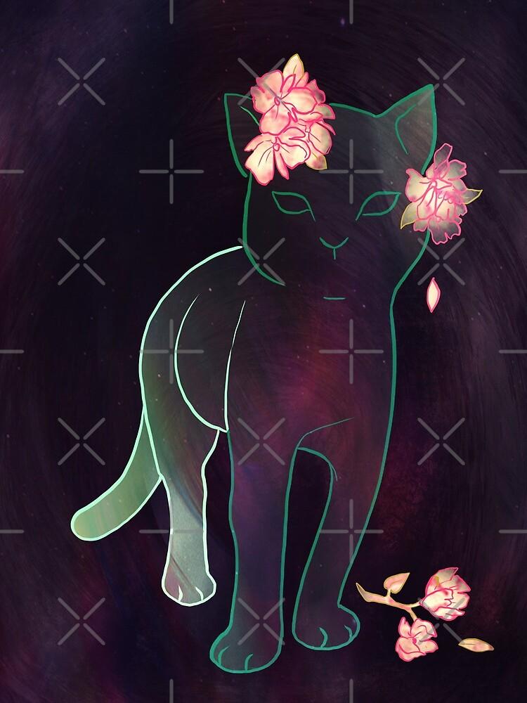 Ghost kitten by JennyJinya