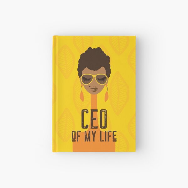 CEO of My Life Hardcover Journal