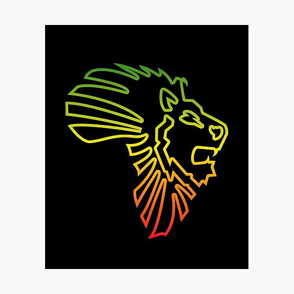 African Map African Lion Red Gold Green Outline Photographic Print By El Em Cee Redbubble Gold lion shield item level 34 binds when picked up. african map african lion red gold green outline photographic print by el em cee redbubble