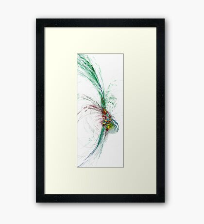 Degrees of Sanity Framed Print