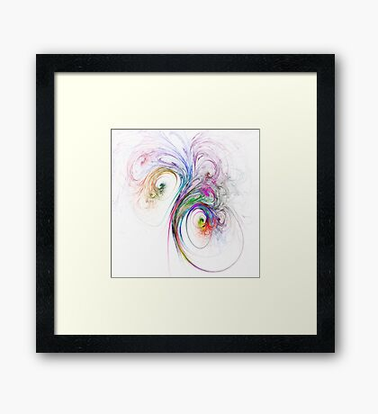Bouquet of Colours Framed Print
