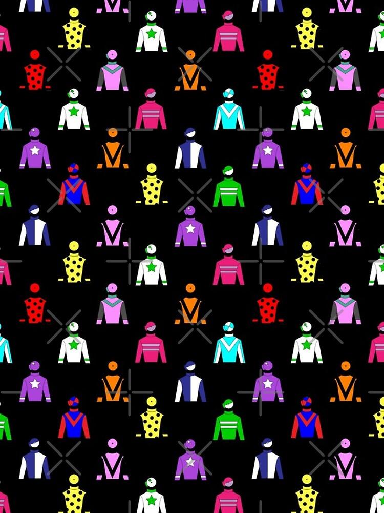 Horse Racing Jockey Silks by CreativeTwins