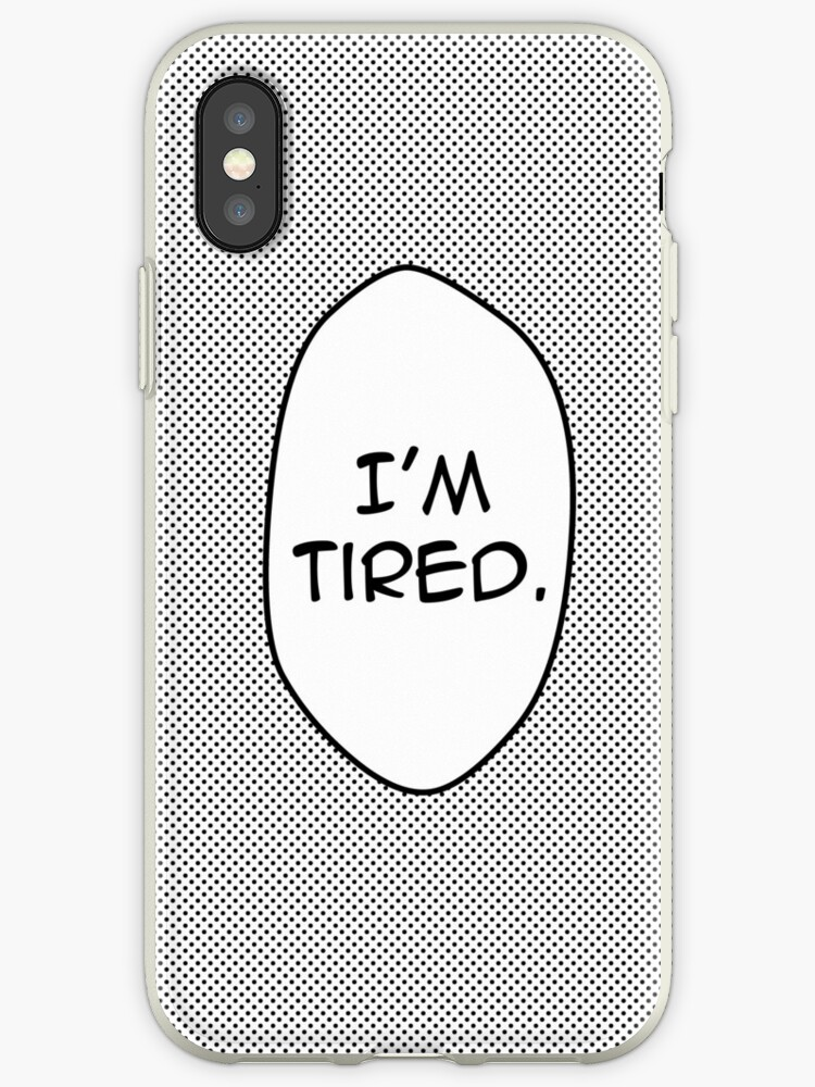 I'm Tired Speech Bubble by darlingGrim