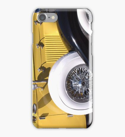 Yellow Roadster  ~ iPhone Case/Skin
