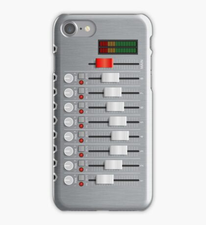 Mini Mixing Desk iPhone Case/Skin