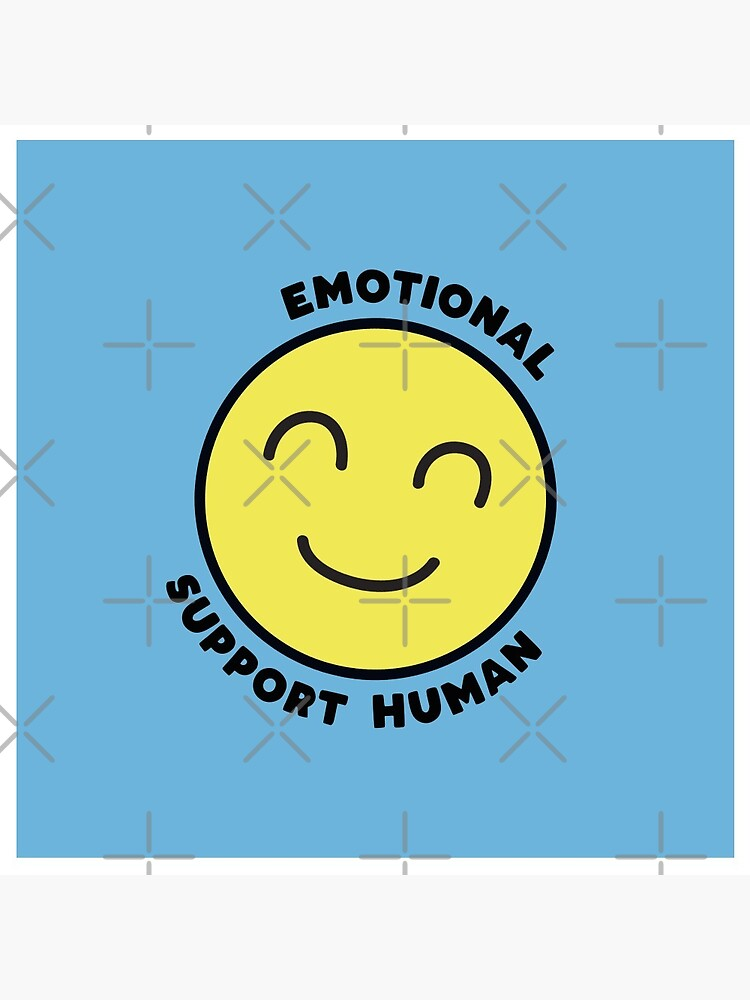 Emotional Support Human by BethsdaleArt