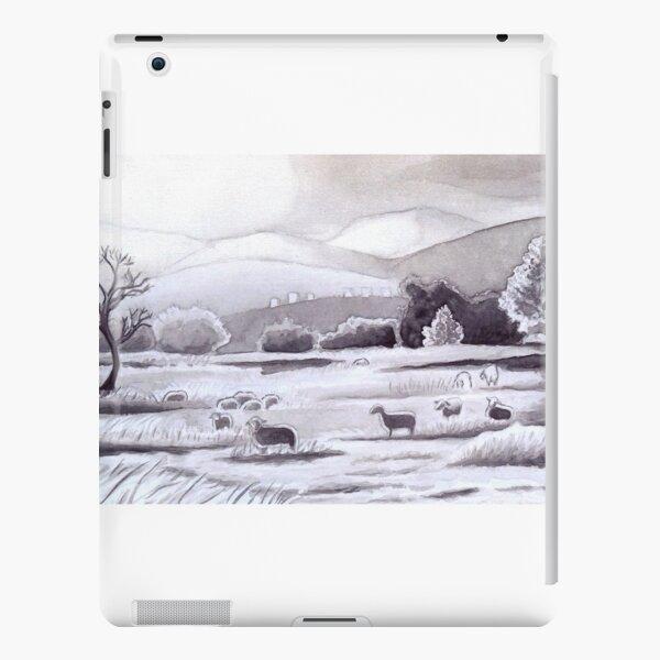 Countryside Charming Sheep in Ibiza iPad Snap Case
