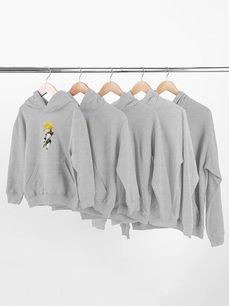 Alternate view of Meliodas Inspired T Shirt - Meliodas t-shirt - Meliodas t shirt - Meliodas Mug - Meliodas Brother  Kids Pullover Hoodie