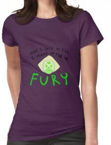 Fury - Peridot Womens Fitted T-Shirt