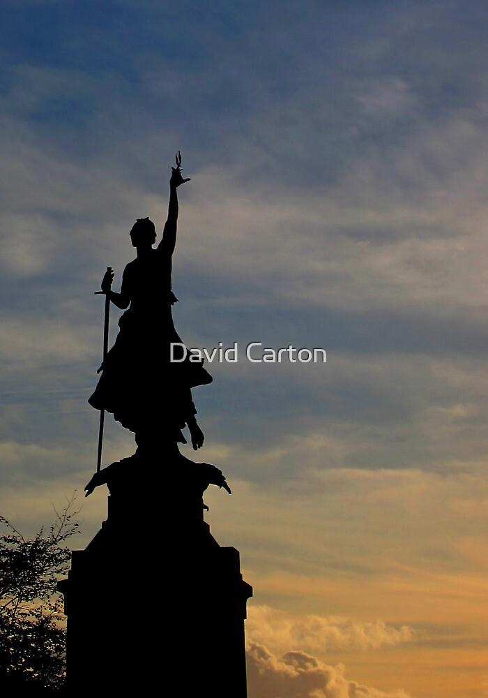 The Northernhay war memorial, Exeter by David Carton