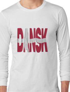 Danish flag Long Sleeve T-Shirt