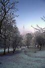Kelvingrove Winter (2) by Karl Williams