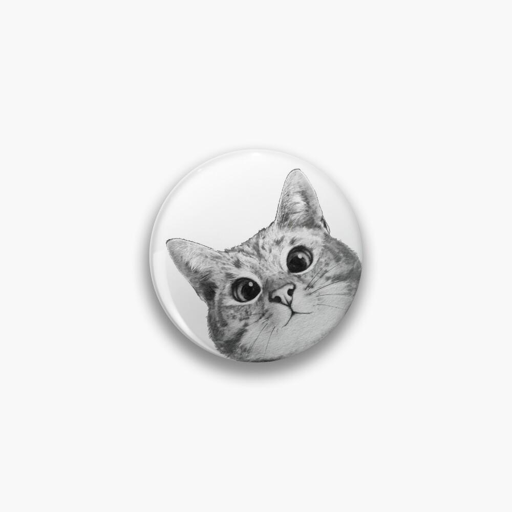 sneaky cat Pin