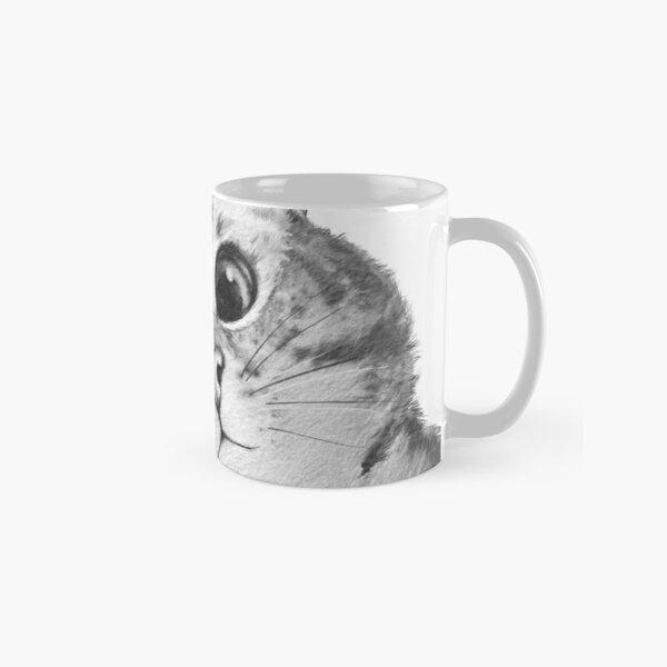 sneaky cat Classic Mug