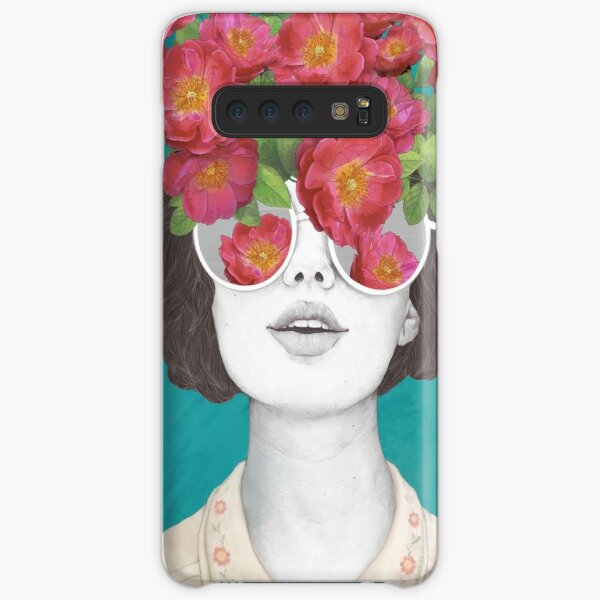 The optimist // rose tinted glasses Samsung Galaxy Snap Case