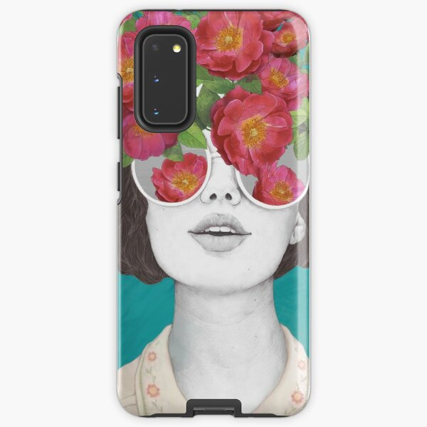 The optimist // rose tinted glasses Samsung Galaxy Tough Case