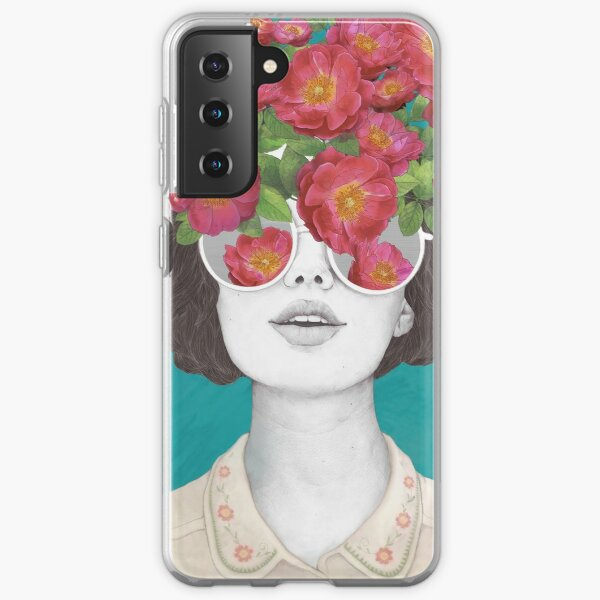 The optimist // rose tinted glasses Samsung Galaxy Soft Case