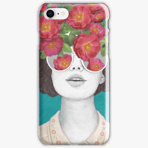 The optimist // rose tinted glasses iPhone Snap Case