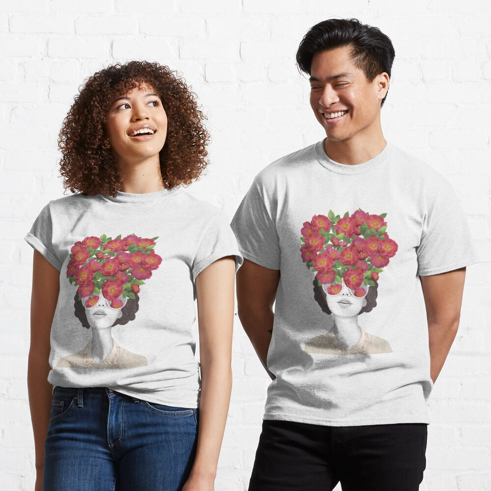 The optimist // rose tinted glasses Classic T-Shirt