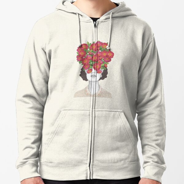 The optimist // rose tinted glasses Zipped Hoodie