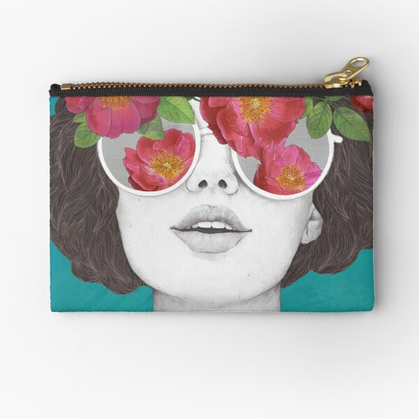 The optimist // rose tinted glasses Zipper Pouch