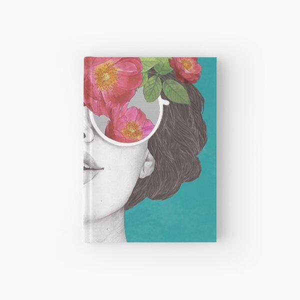 The optimist // rose tinted glasses Hardcover Journal