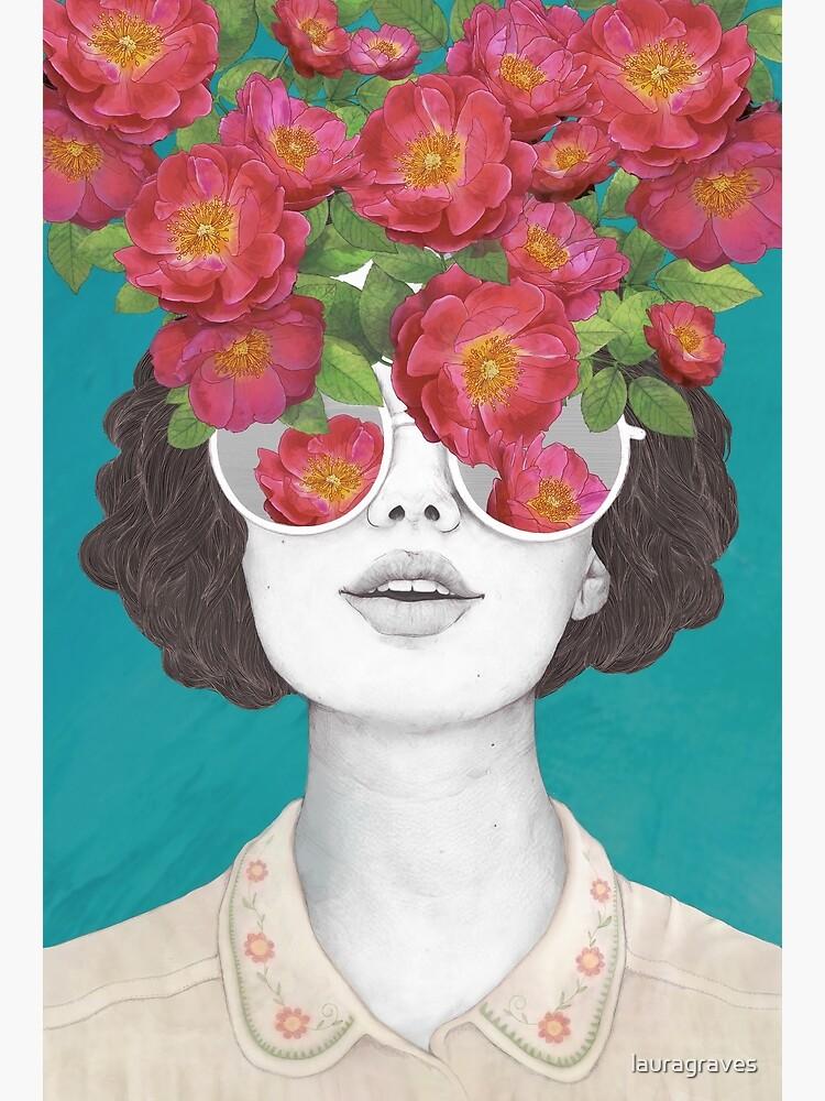 Der Optimist // Rose getönte Brille von lauragraves