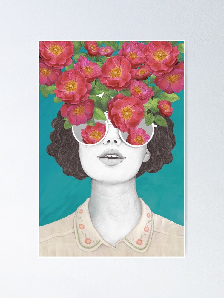 Alternative Ansicht von Der Optimist // Rose getönte Brille Poster