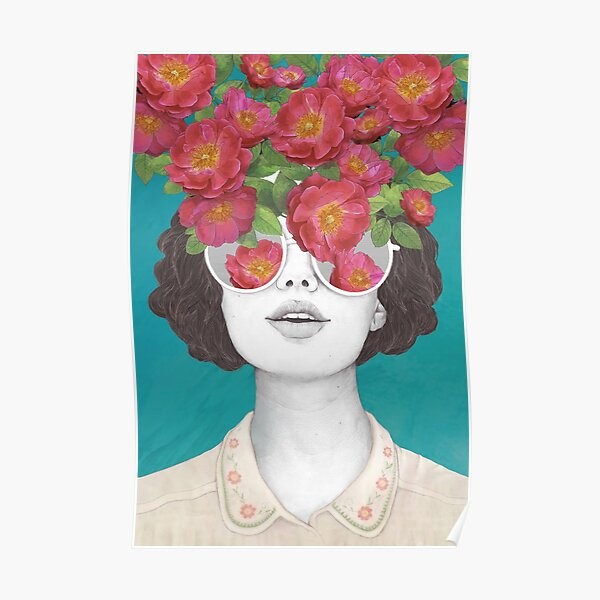 The optimist // rose tinted glasses Poster
