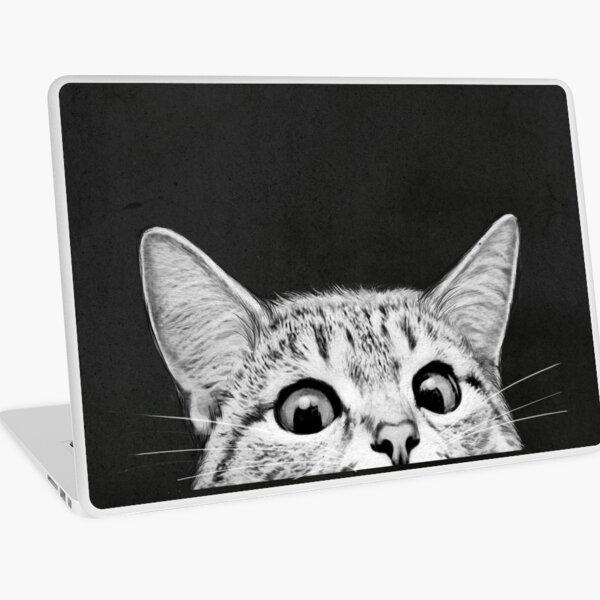 gato Vinilo para portátil