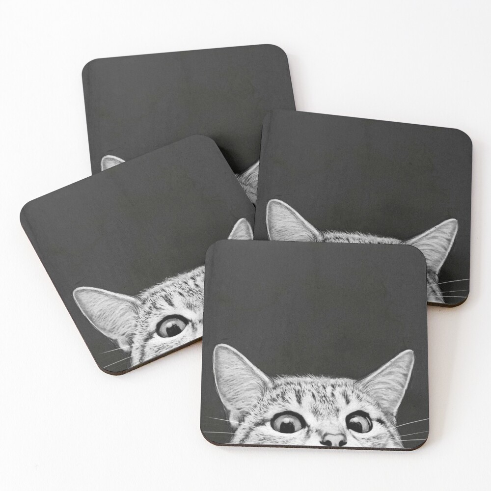 You asleep yet? Coasters (Set of 4)
