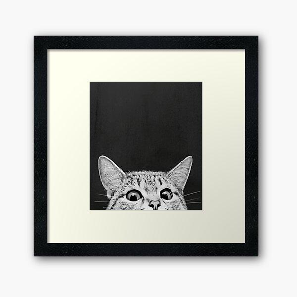 You asleep yet? Framed Art Print
