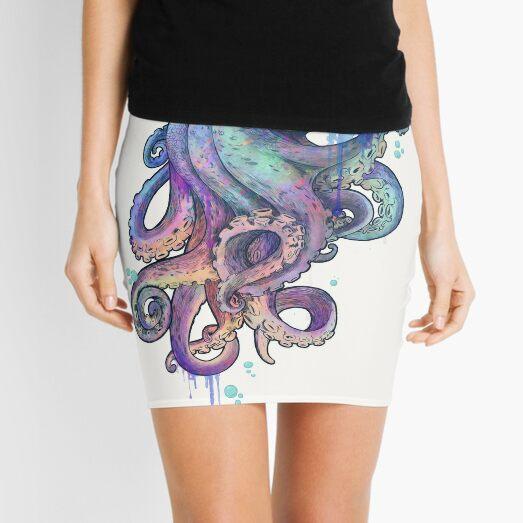 octopus  Mini Skirt
