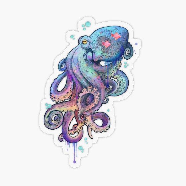 octopus  Transparent Sticker