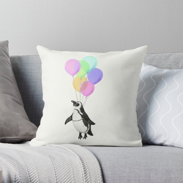 I can believe I can fly Throw Pillow