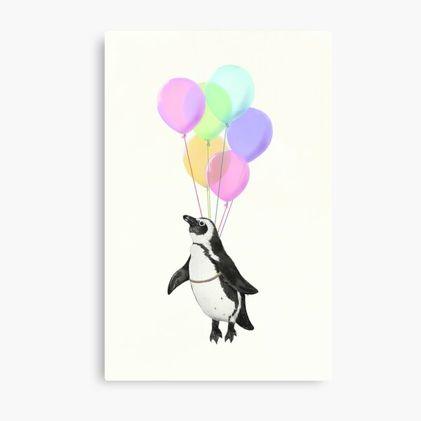 I can believe I can fly Metal Print