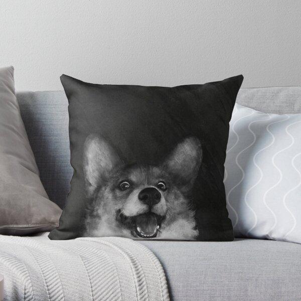 Sausage Fox Throw Pillow