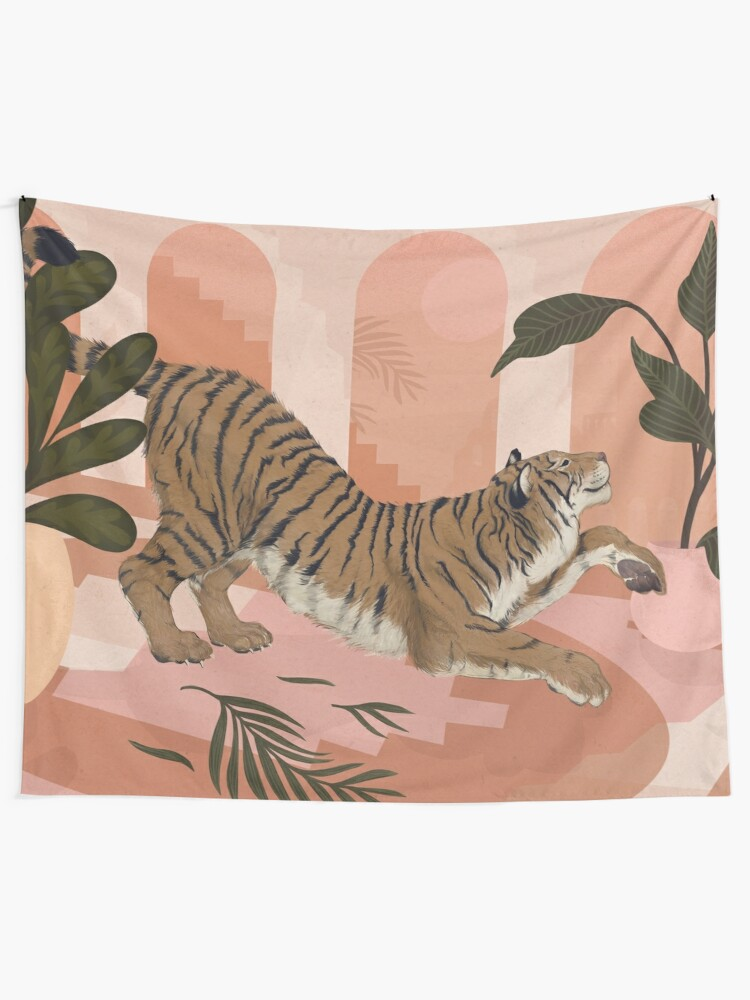 Alternate view of Easy Tiger Tapestry