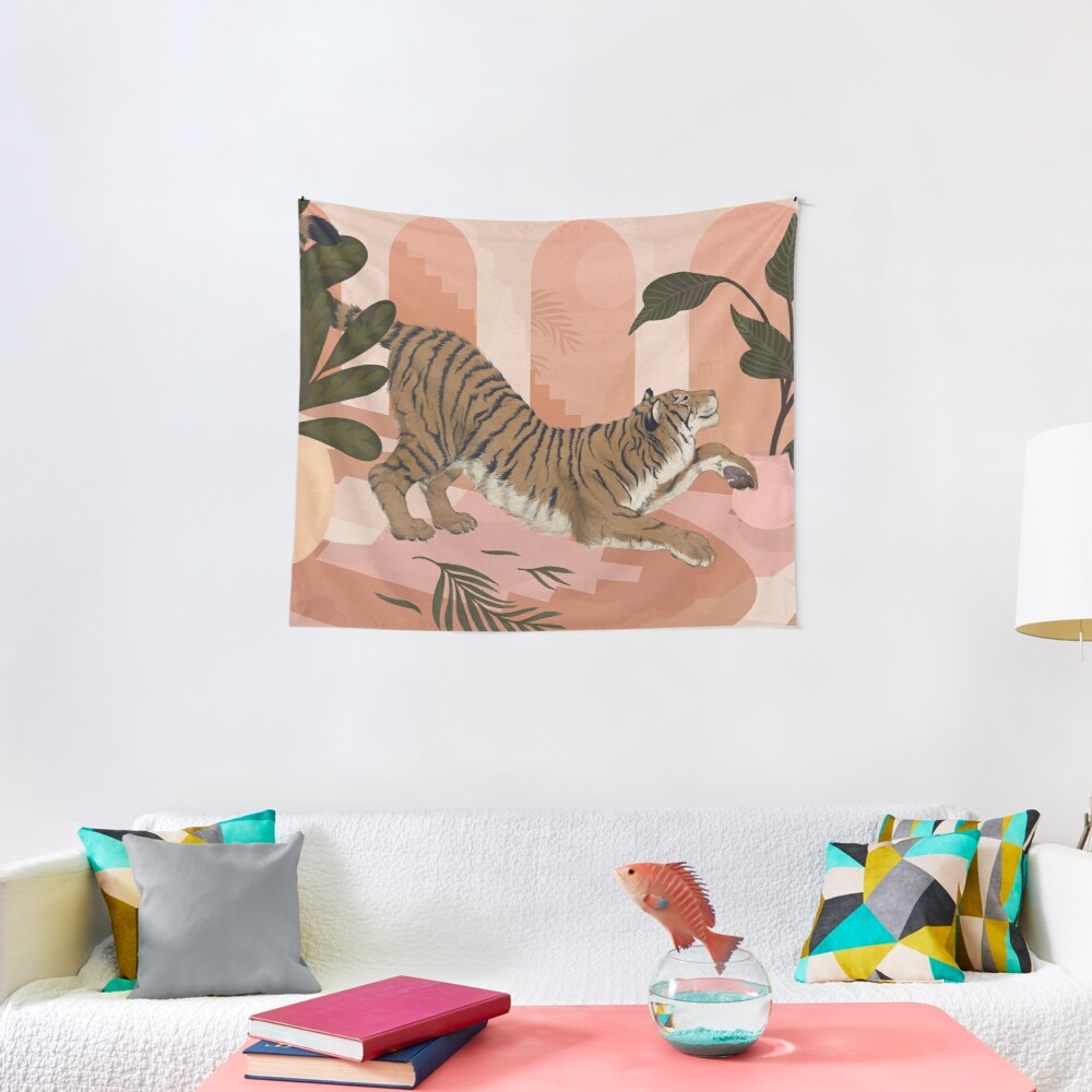 Easy Tiger Tapestry