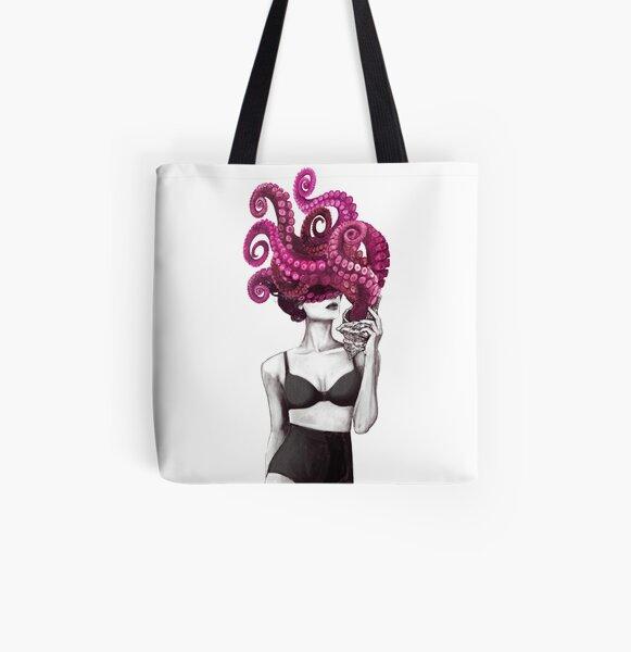 Ocean All Over Print Tote Bag