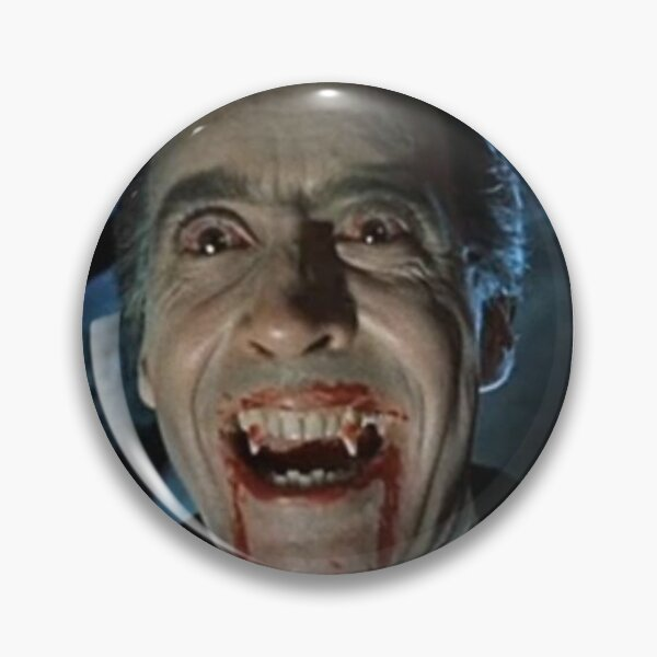 VAMPIRE. DRACULA. Christopher Lee as the title character in Dracula.1958. Pin