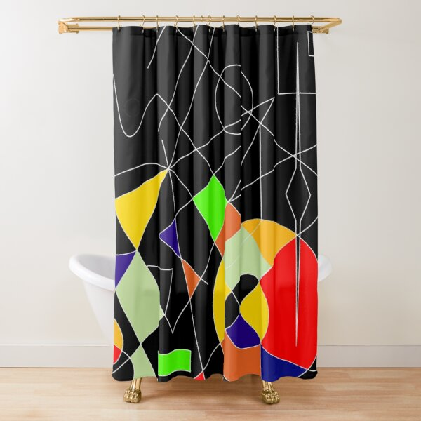 Let There Be Bright Shower Curtain