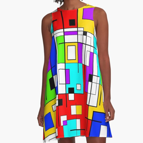 The Busy City A-Line Dress