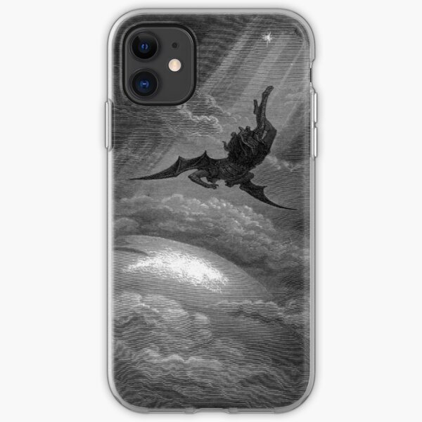 ANGELS AND DEMONS. Paradise Lost. By Gustave Dore. iPhone Soft Case