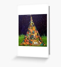 Campout Greeting Card