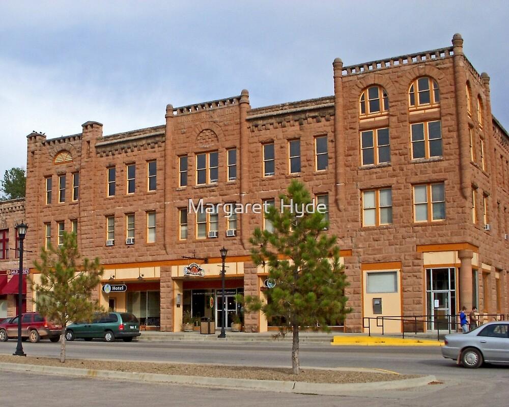 Red Rock River Hotel, Hot Springs, South Dakota by Margaret  Hyde