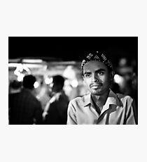 Street portrait Photographic Print