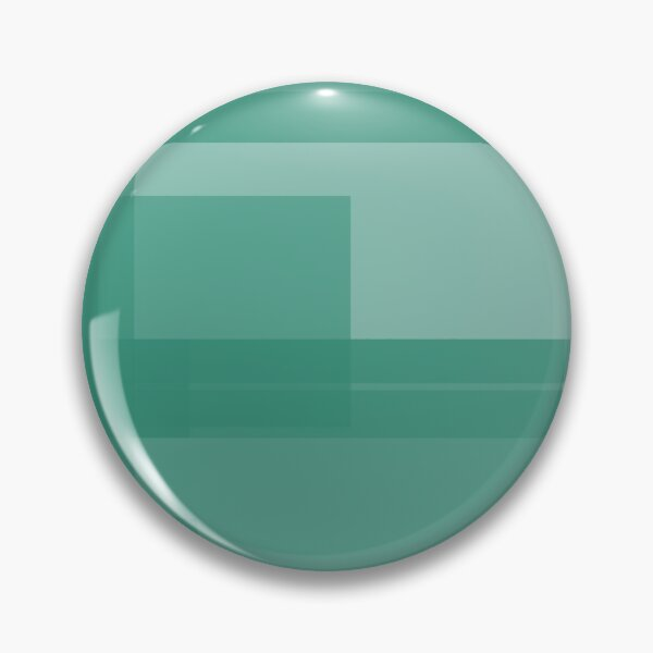 Emerald Energy 3 - Merged Repeated Emerald Rectangles Pin