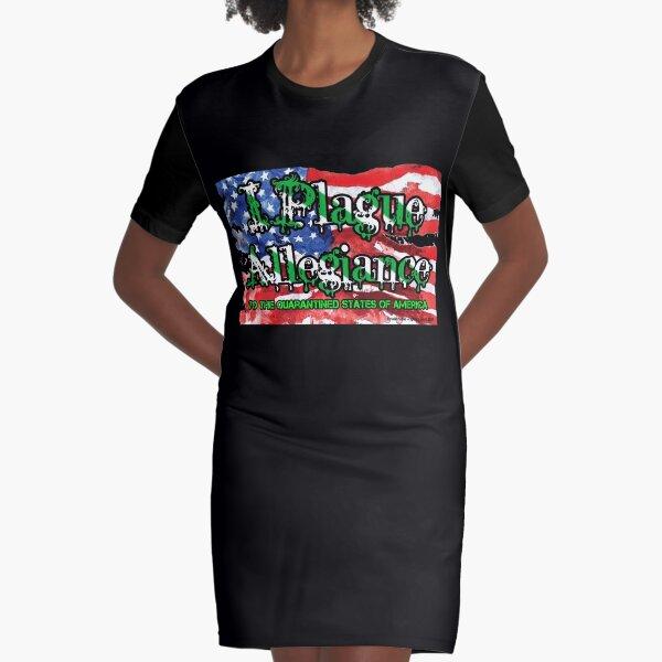 I Plague Allegiance Graphic T-Shirt Dress