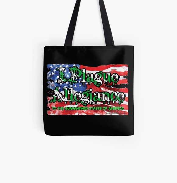 I Plague Allegiance All Over Print Tote Bag
